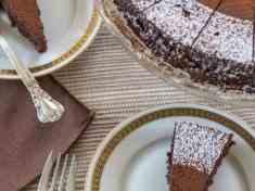 Bittersweet Chocolate Torte {gluten free}