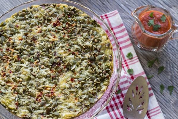 Healthy Salad Greens Torta