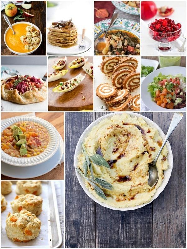 November Seasonal Recipes collage