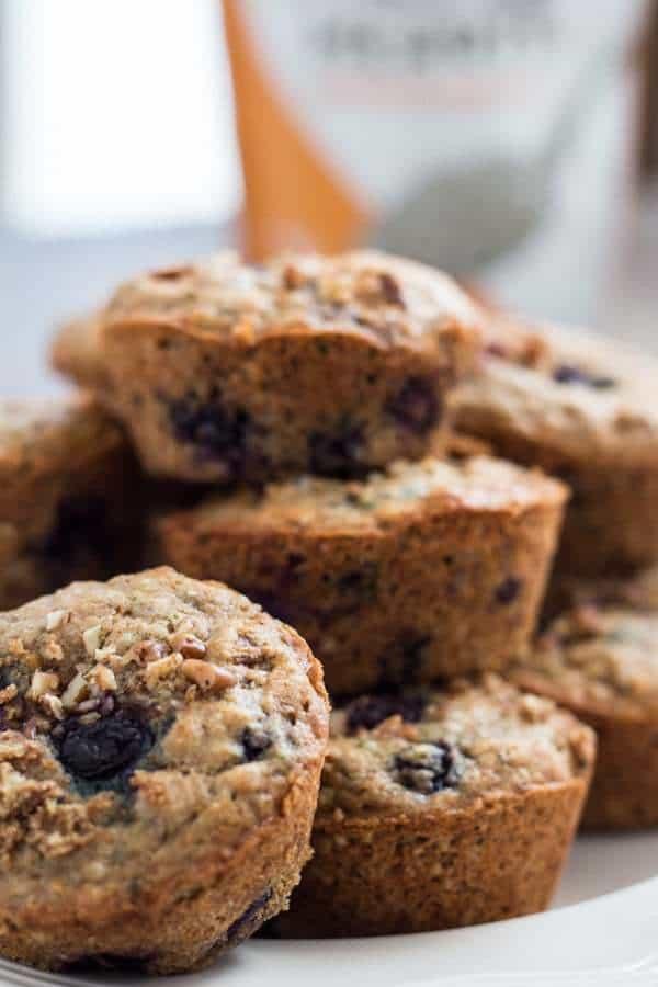 Blueberry Hemp Muffins