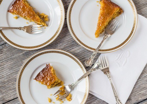 Gluten Free Orange Almond Honey Cake