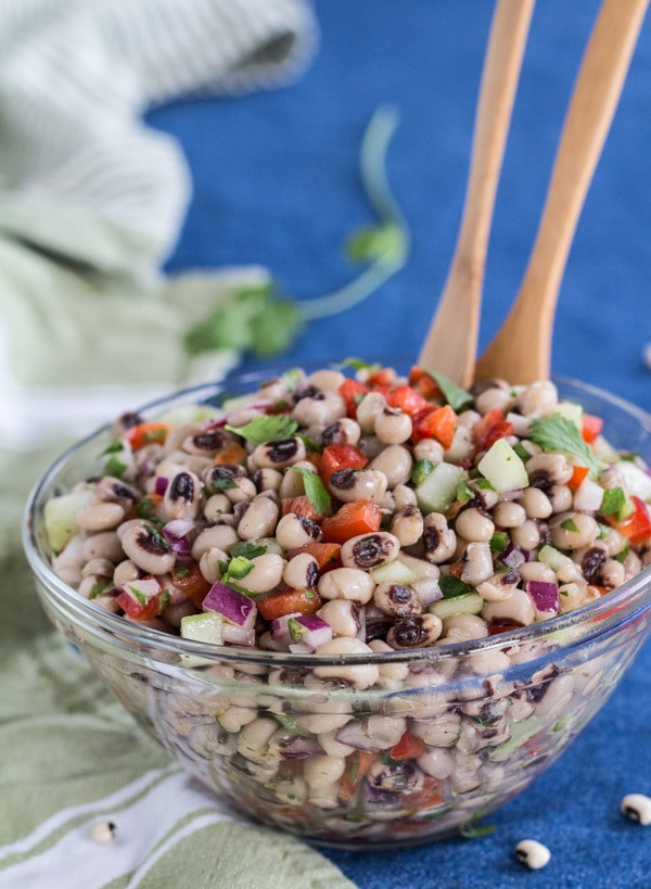 mexican blackeyed pea salad with lime vinaigrette  letty
