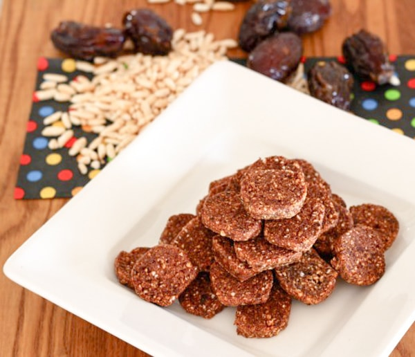 Puffed Rice Date Chewys for Healthy Holiday Cookies