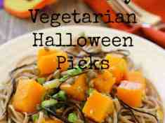 16 Healthy Vegetarian Halloween Picks
