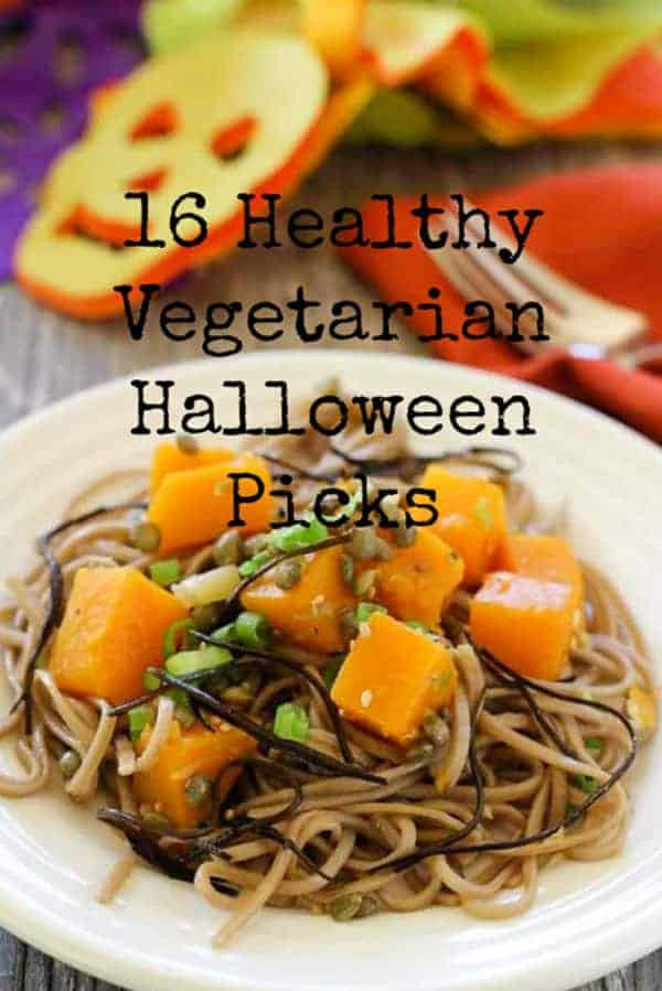 16 Healthy Vegetarian Halloween Picks | Letty's Kitchen