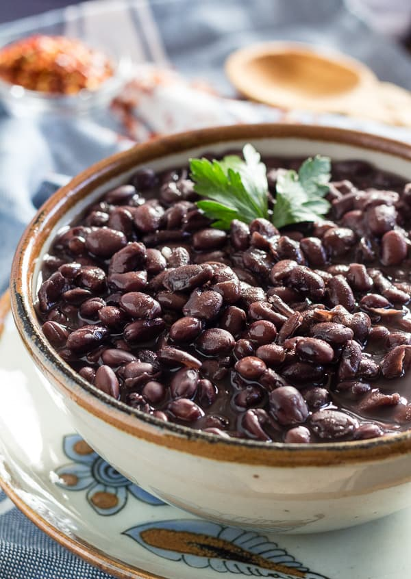 How to Cook Black Beans in a Pressure Cooker | Letty's Kitchen
