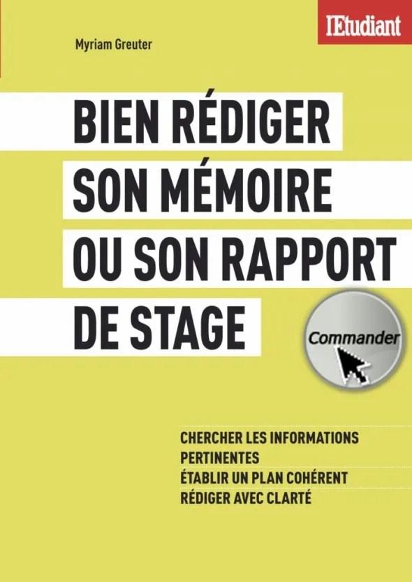 Mémoire Rapport De Stage Comment Avoir Un Bon Style L