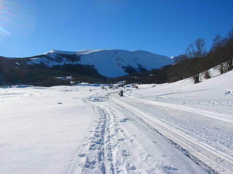 Sciare in Abruzzo