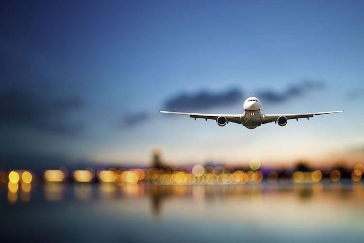aereo atterraggio