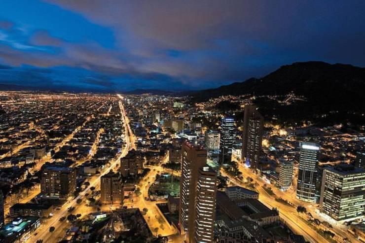 Bogotà panorama