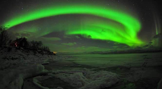 A caccia dell'aurora boreale!