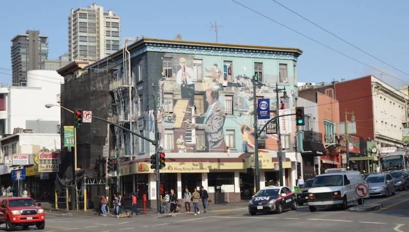 San Francisco murales