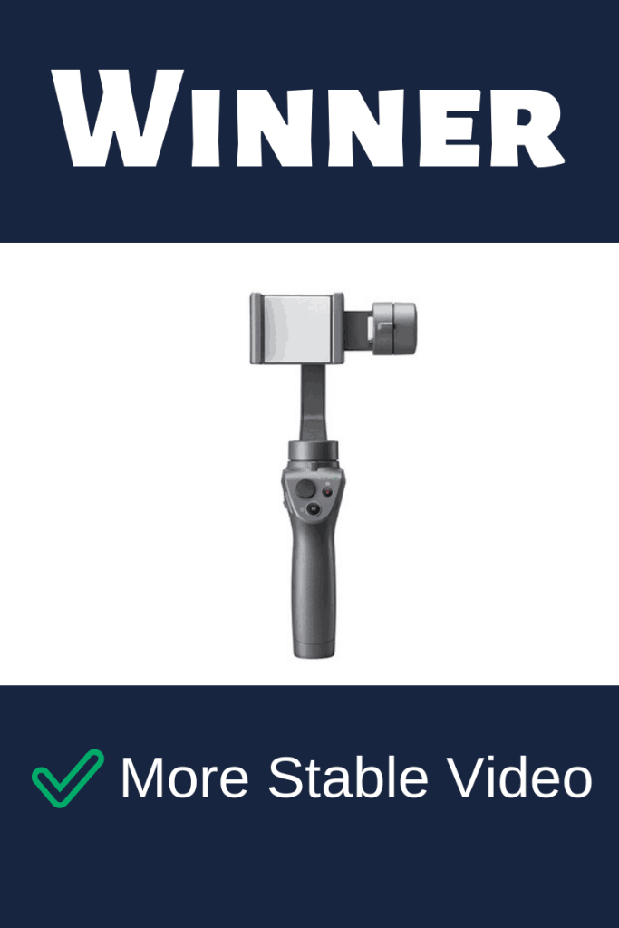 osmo mobile 2 stable video
