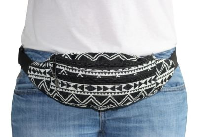 Fanny Pack Aztec Abstract Voorkant