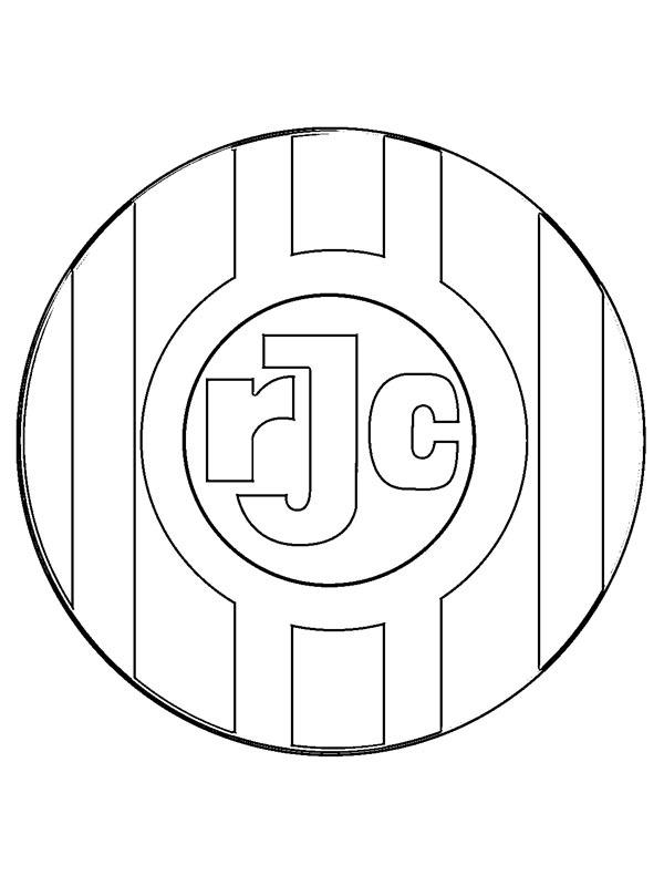 kleurplaat roda jc kerkrade