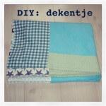 DIY: dekentje of sprei maken voor baby of peuter
