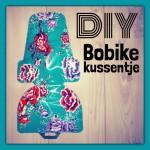 DIY kussentje Bobike fietsstoeltje