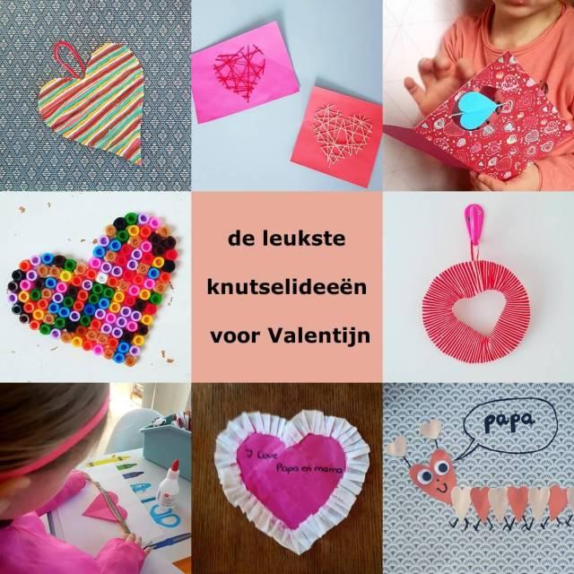 Knutselen voor Valentijnsdag de leukste ideeën