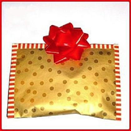 polkadot cadeauverpakking