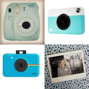 Instax camera van Polaroid, Fujifilm of Kodak - De leukste kraamcadeaus voor de geboorte van een baby