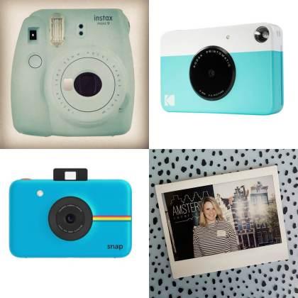 Cadeautips: Instax camera van Polaroid, Fujifilm of Kodak