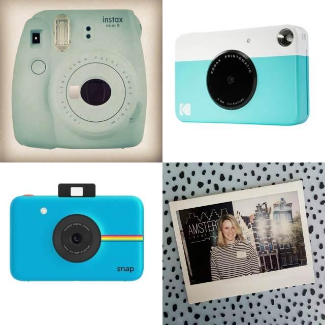 De leukste cadeaus voor de juf of meester voor de zomervakantie / Instax camera van Polaroid, Fujifilm of Kodak