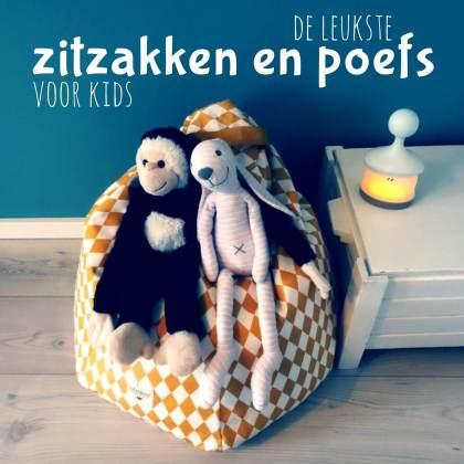 duurzame kinderkamer cadeaus voor kinderen - zitzakken en poefs