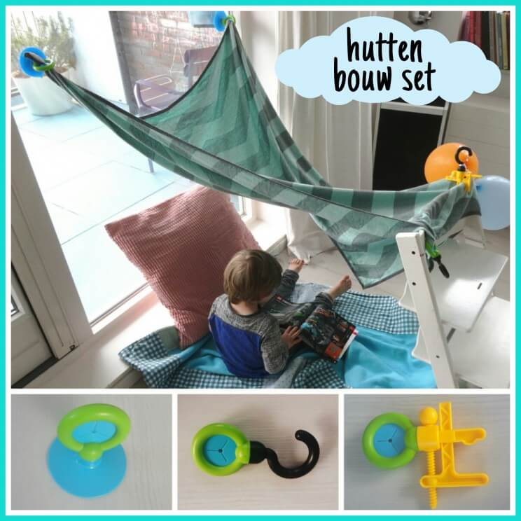 Super leuk speelgoed: een hutten bouw set