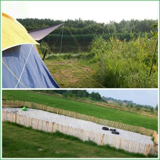De Wildste Tuin: park met zwemstrandjes, strandtent,camping,natuurspeeltuin en bamboejungle