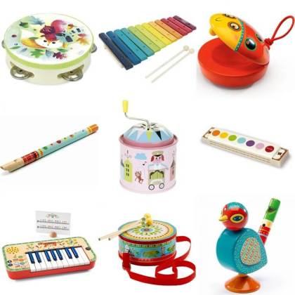 verjaardag cadeau ideeën voor een kleuter van 4 jaar of 5 jaar: muziekinstrumenten