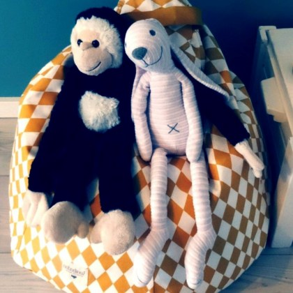 Baby verjaardag: cadeau ideeën voor kinderen van 1 jaar - knuffels van Happy horse