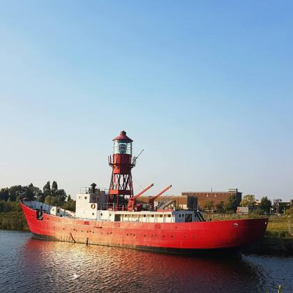 NDSM werf in Amsterdam Noord