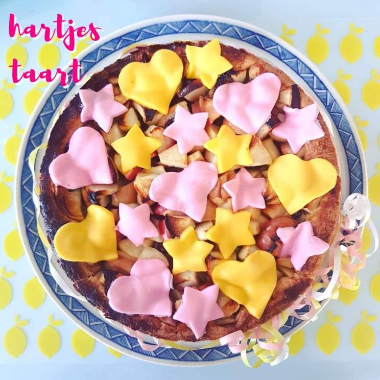Bakken met kids: heel veel leuke recepten voor kinderen. Zelfgemaakte hartjestaart voor de verjaardag van onze prinses