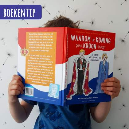 Boekentip: Waarom de koning geen kroon draagt en andere weetjes over het koningshuis