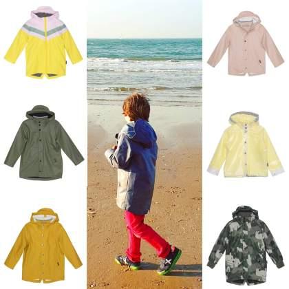 Gosoaky regejassen annex winterjassen voor meisjes en jongens. Dit merk heeft winterregenjassen met een extra laag er in, die kun je er in de zomer uithalen, dus je kunt hem het hele jaar gebruiken