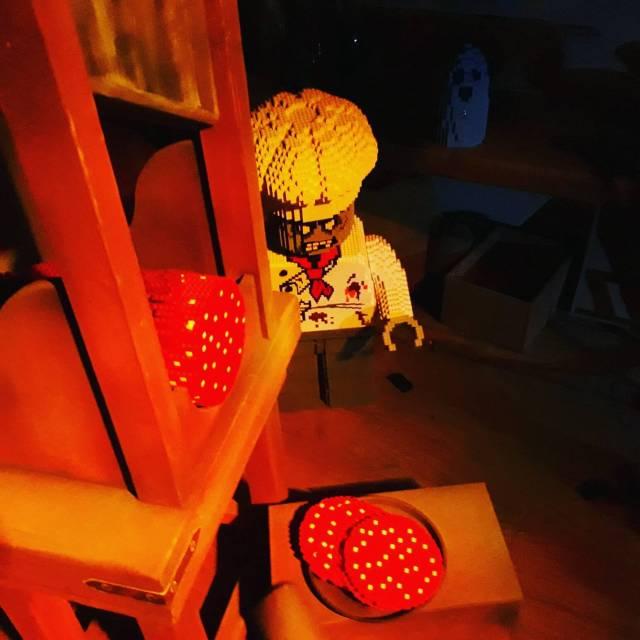 Legoland met kinderen: alles wat je wil weten, Legoredo Town Haunted House spookhuis #leukmetkids #legoland #Denemarken #kinderen