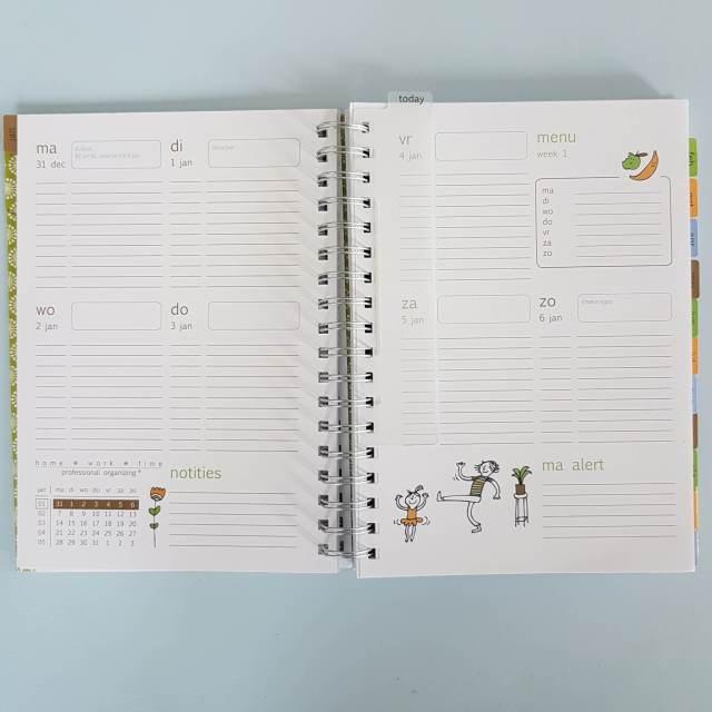 Organizing tip: familie-agenda voor de keukentafel + winactie