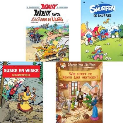 Sinterklaascadeaus pakjesavond: stripboek