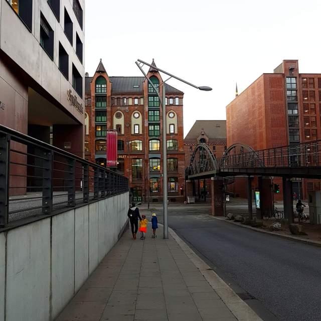 Hamburg met kids Speicherstadt