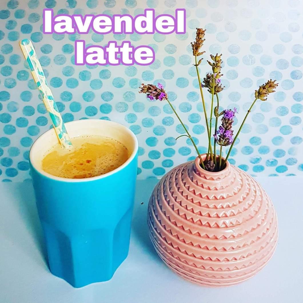 Recept: Lavendel Latte