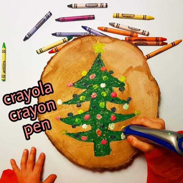Crayola Crayon Pen: kinderkunst maken met gesmolten wasco
