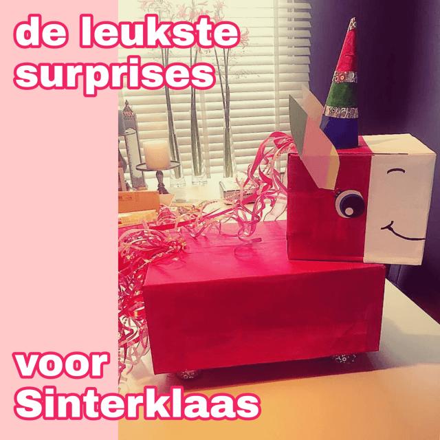 De leukste Sinterklaas surprises