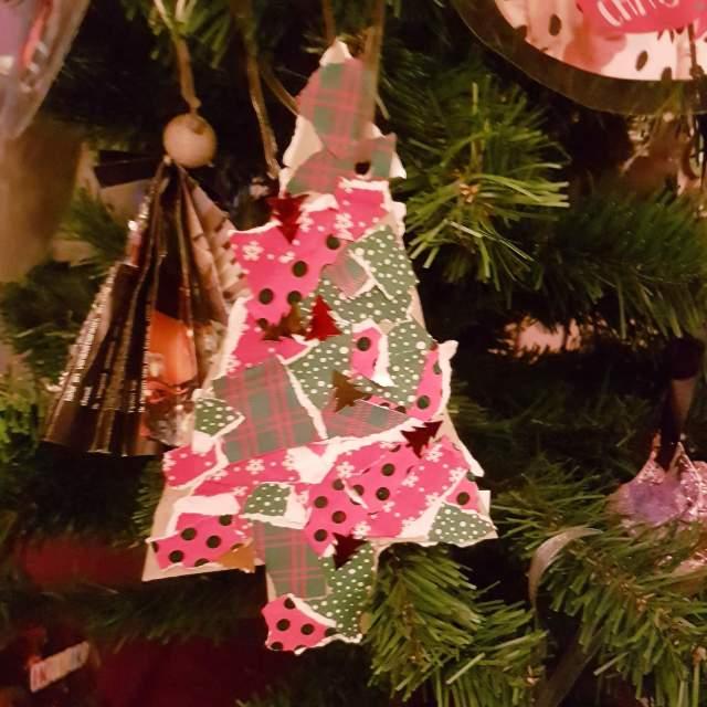 kerstboom hanger knutselen voor kerst
