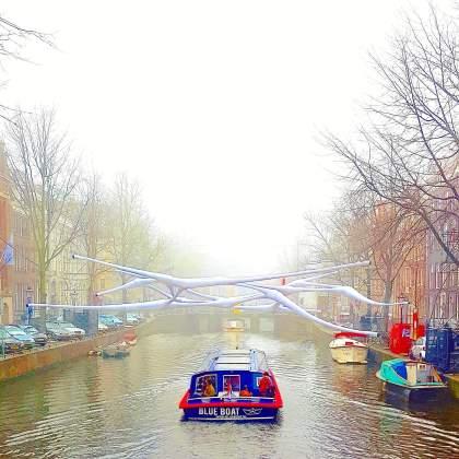Amsterdam Light Festival: boottocht voor kids
