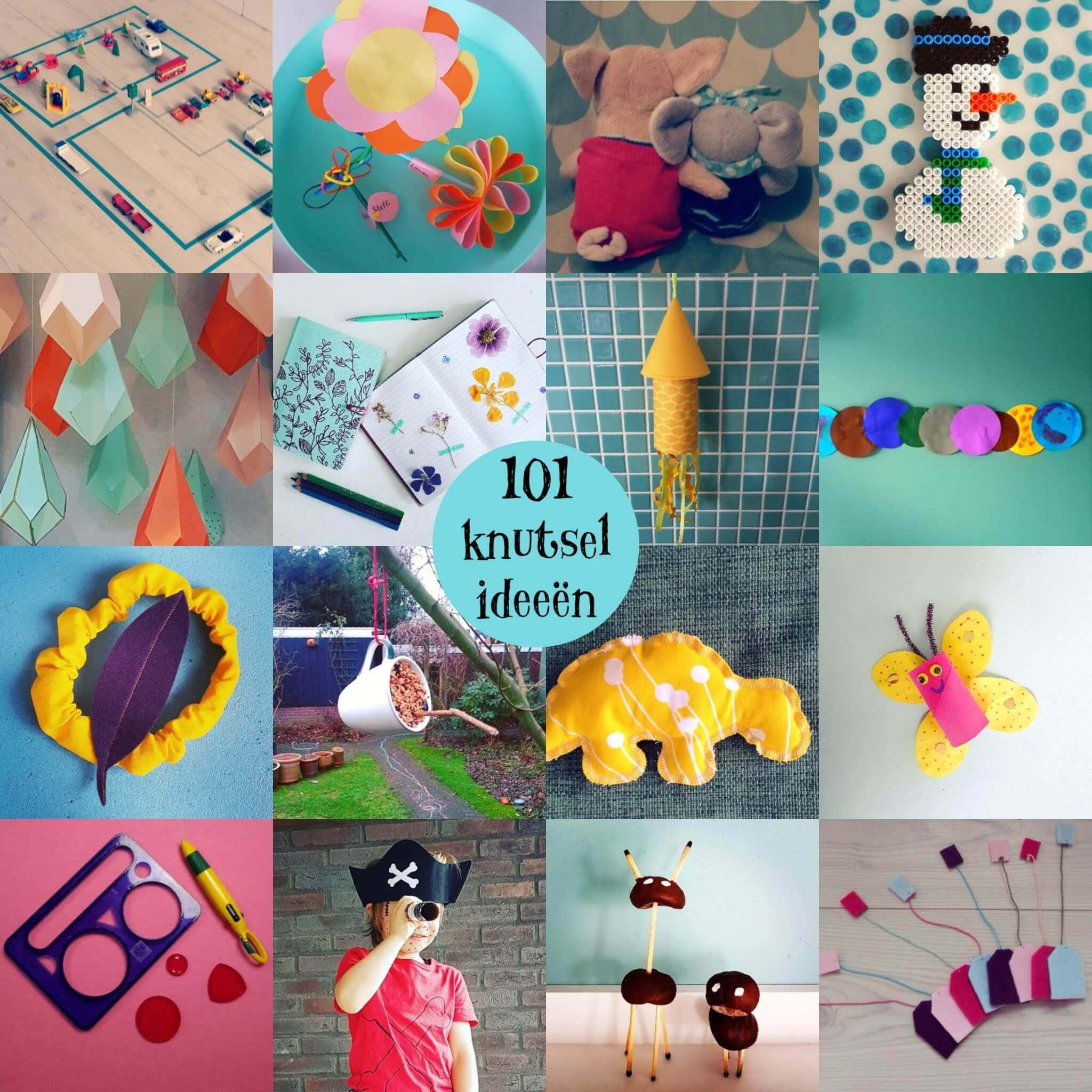 Verrassend 101 ideeën om te knutselen met kinderen - Leuk met kids VX-34