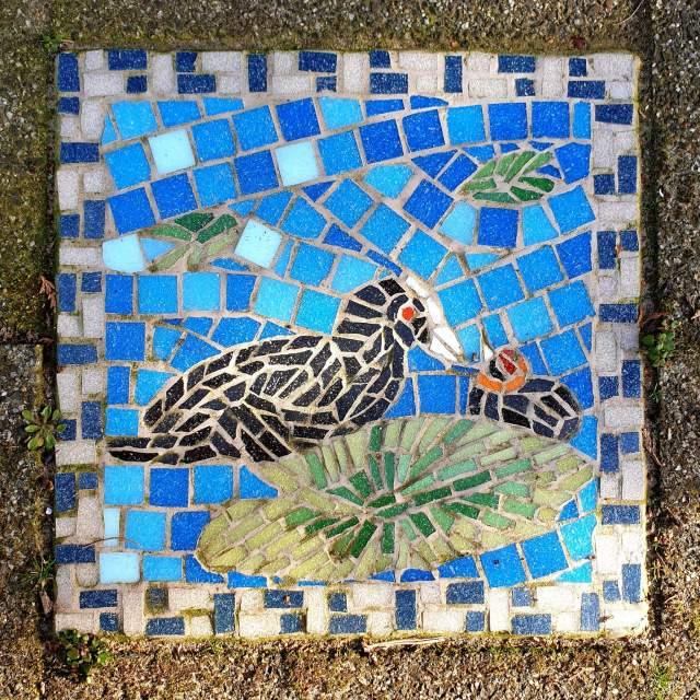 Den Haag met kids: Vogelwijk met mozaiektegels