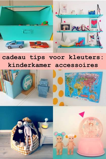 cadeau tips voor kleuters: kinderkamer accessoires
