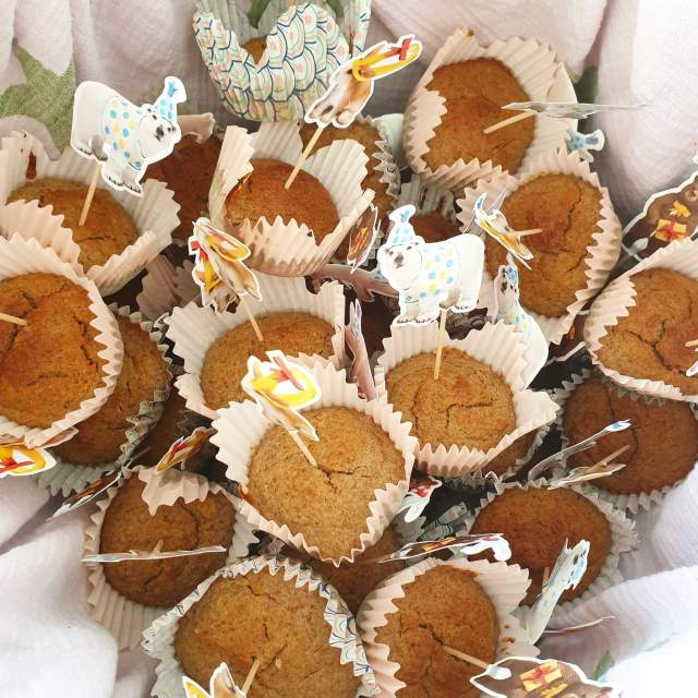 Gezonde traktatie: bananenbrood cupcakes