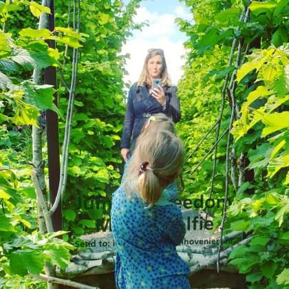 selfie in de Tuinen van Appeltern