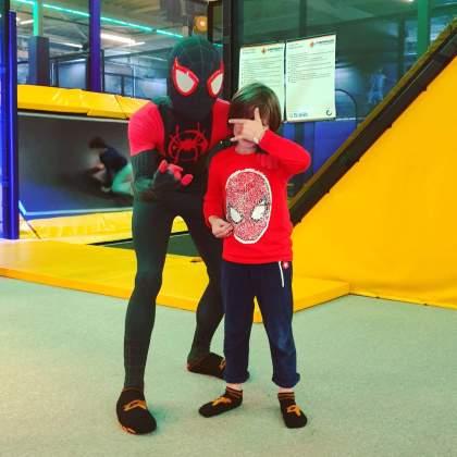 de nieuwe Spider-Man